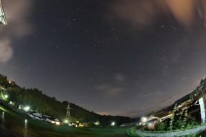 20130615_ゆつぼ亭と初夏の星座
